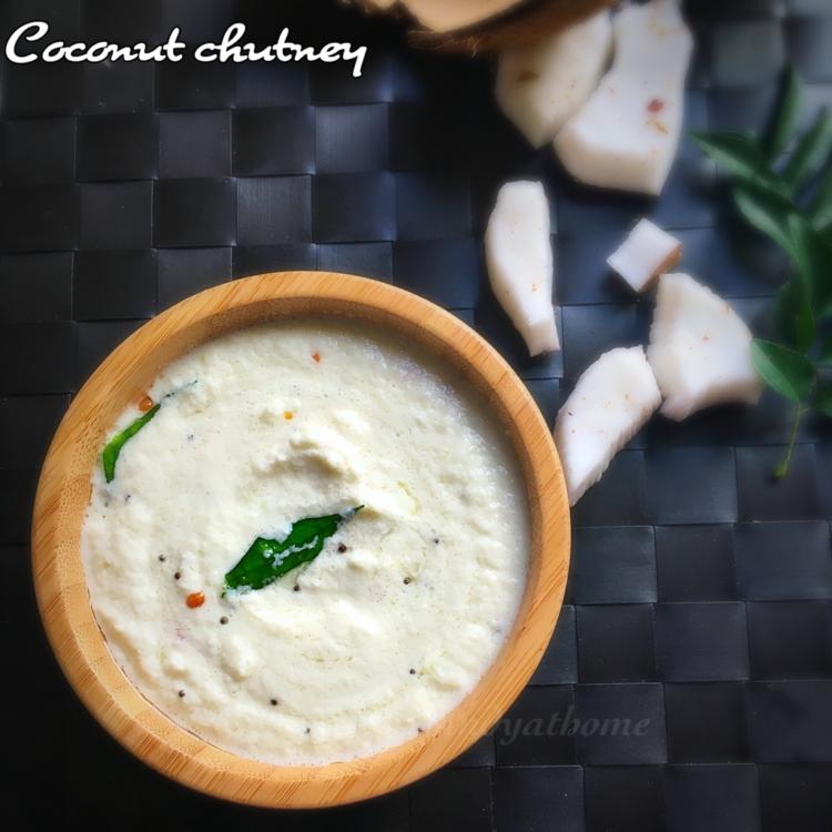 Coconut chutney recipe, How to make coconut chutney