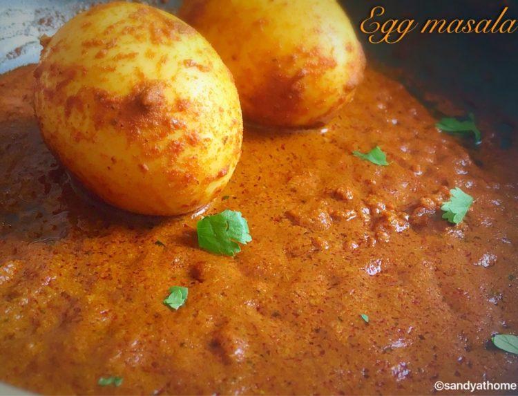 Egg masala, Guddu masala recipe, How to make muttai masala