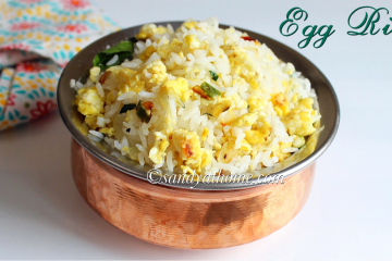 egg rice recipe, guddu rice