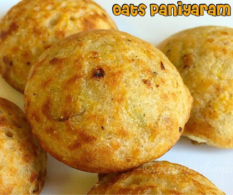 Oats paniyaram recipe, How to make oats paniyaram,  Oats recipes