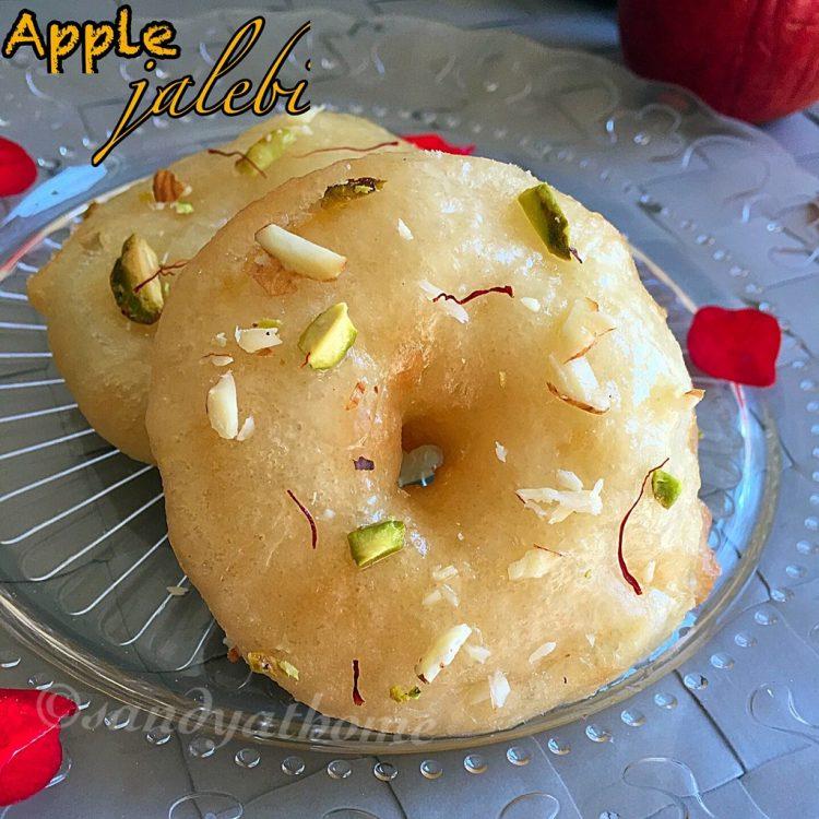 Apple jalebi recipe, Dessert recipes