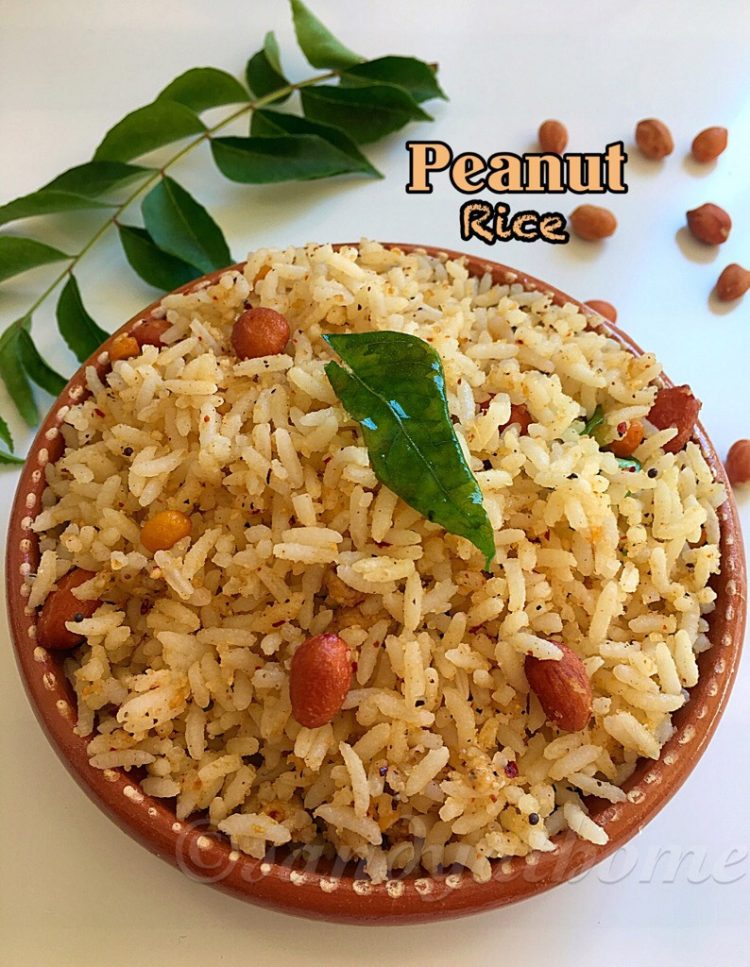 Peanut rice recipe, How to make Peanut rice