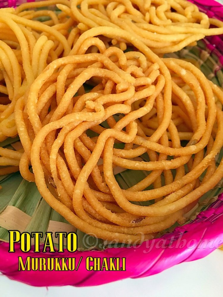 Potato murukku, Potato chakli recipe, Snacks recipes