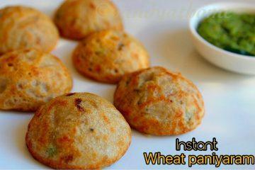 wheat paniyaram