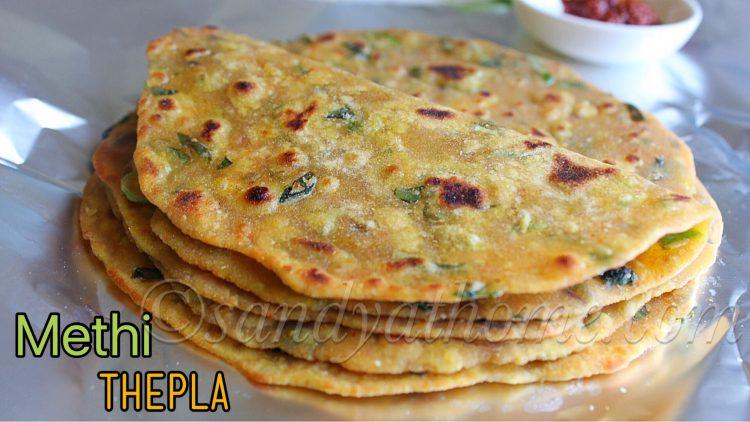 Methi thepla recipe, How to make methi thepla