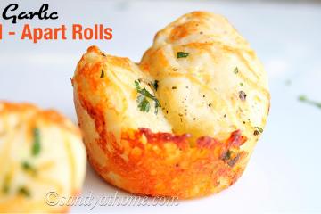 Garlic pull apart rolls