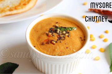 mysore chutney