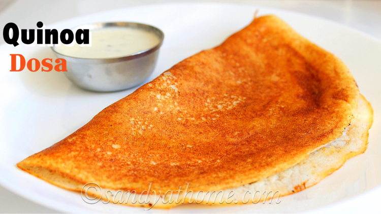 Quinoa dosa recipe, How to make dosa with Quinoa