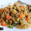 vegetable quinoa upma