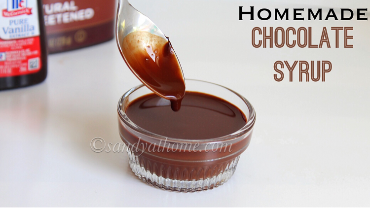 Chocolate syrup, Homemade Chocolate syrup, 5 Minutes Chocolate syrup