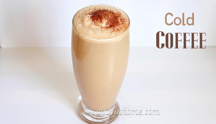 Cold coffee recipe, Coffee milkshake
