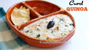 curd quinoa recipe, quinoa curd bath, curd bath, quinao recipes