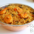 prawn biryani recipe
