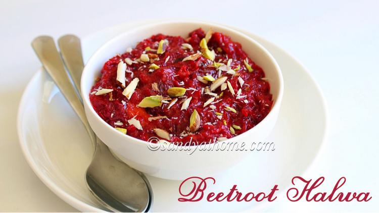 Beetroot halwa recipe, Easy beetroot halwa