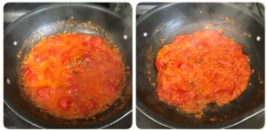 cook tomato till thick
