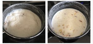 simmer the kheer for 2 minutes