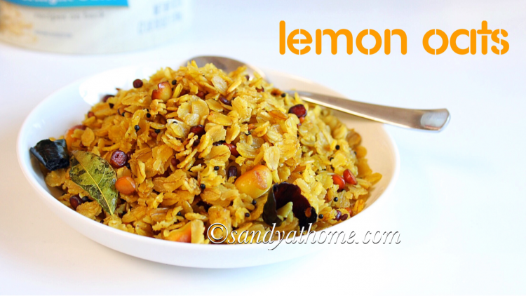 Lemon oats recipe, Easy oats recipes, Indian oats recipes