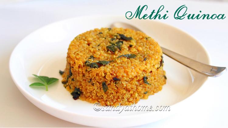 Methi quinoa recipe, Methi quinoa upma, Quinoa recipes