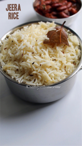 jeera rice, jeera rice recipe