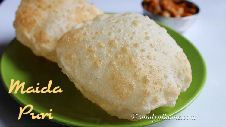 Maida puri recipe, How to make maida poori, Puri recipe