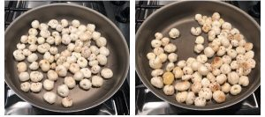 Roast phool makana in ghee till crispy